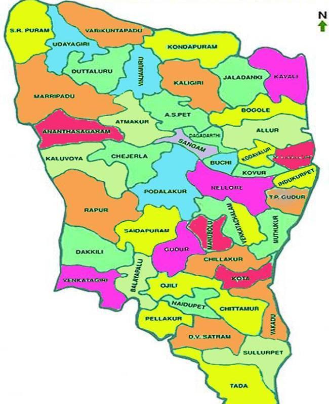 SPSR Nellore District 46 Mandals