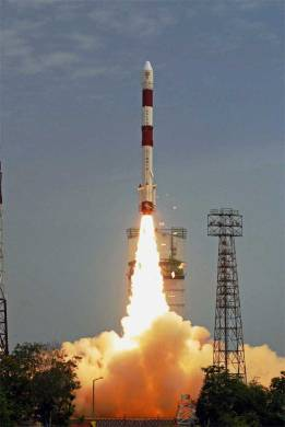 PSLV C23 lift off View 3