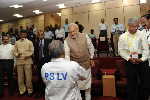PM meeting the scientists