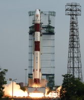 PSLV C23 lift off View 1
